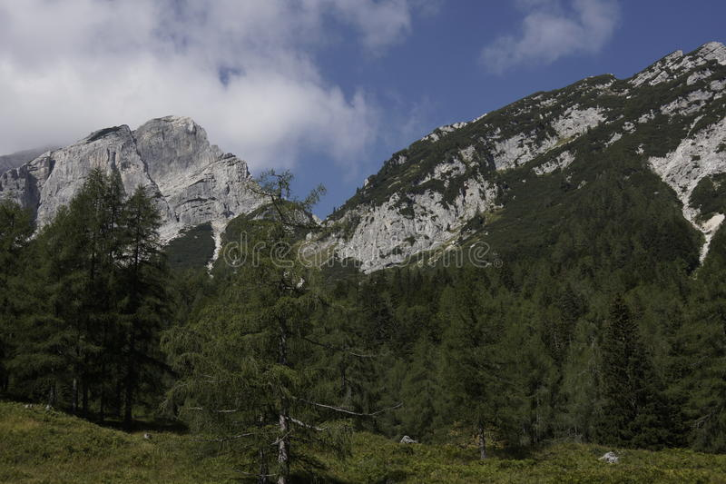 Download Landscape Of The Beautiful Julian Alps Stock Image - Image: 33552289