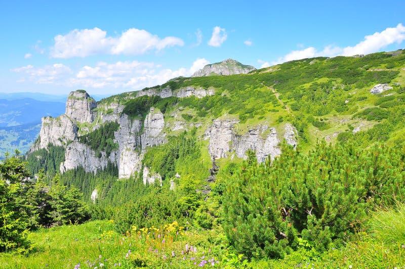 landscape berg royaltyfria bilder