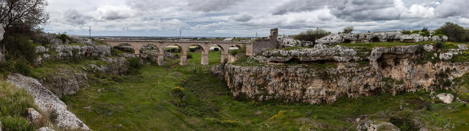 Download Landscape With Bridge Royalty Free Stock Image - Image: 32329396