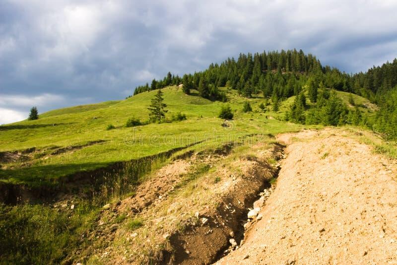 Landscape from Bucovina (Romania). A landscape from Bucovina. A region from the North of Romania stock images