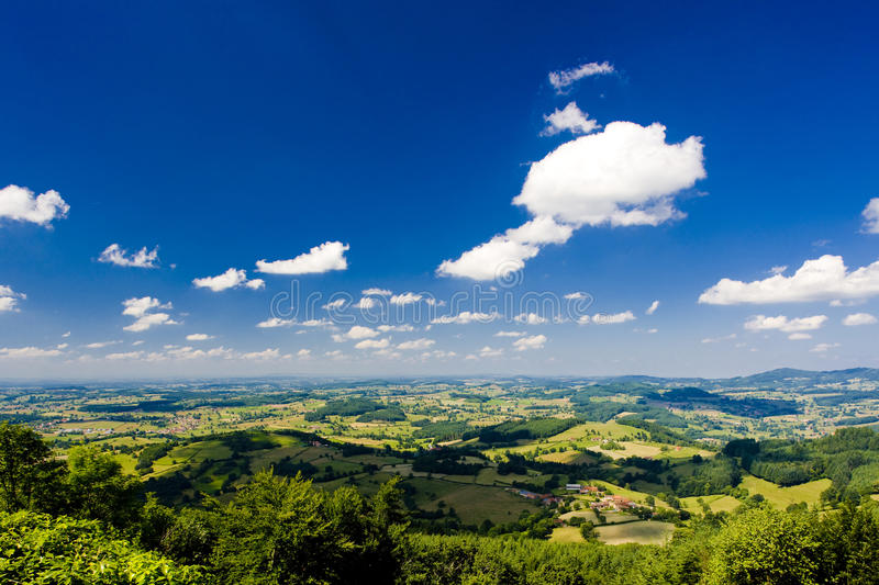 Download Landscape in Burgundy stock image. Image of natural, exteriors - 14862629
