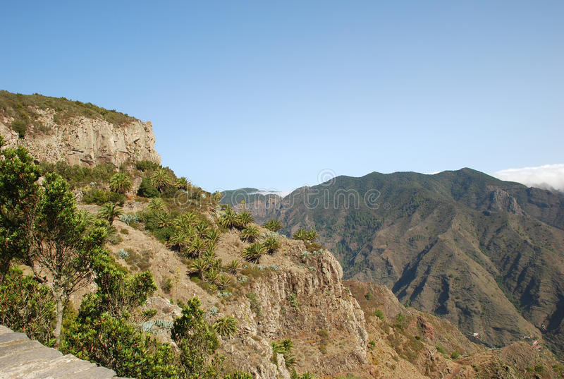 Landscape in Canary Islands royalty free stock photography
