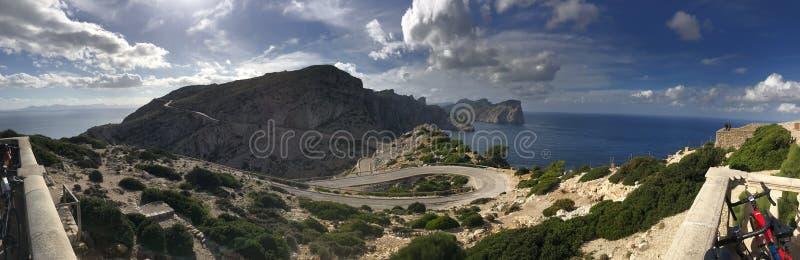 Cap de Formentor, Mallorca, Spain stock photo