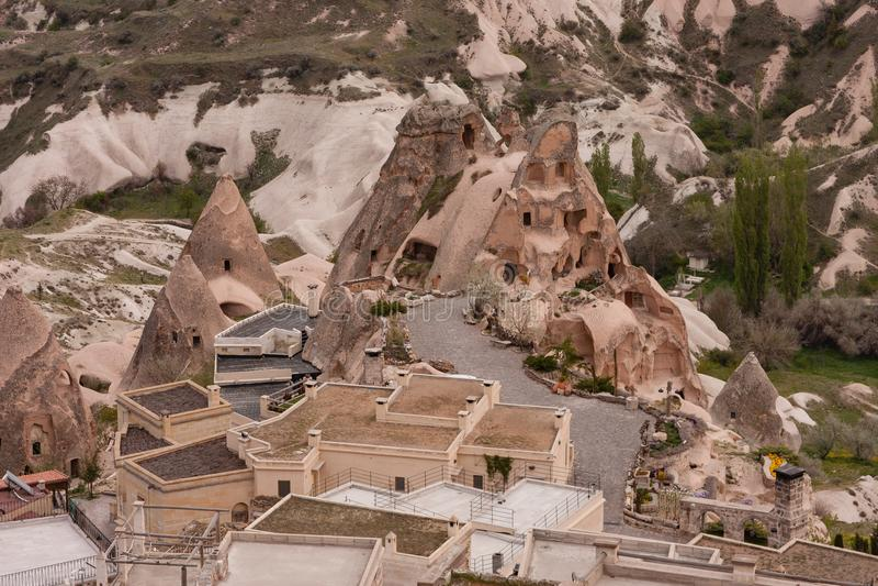 Landscape of Cappadocia royalty free stock image