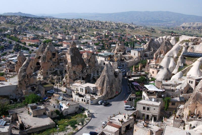 Landscape of Cappadocia stock image