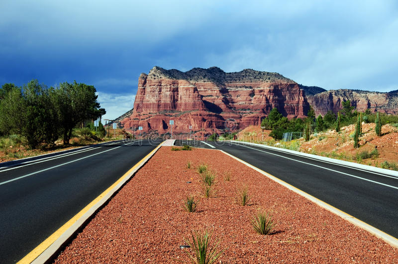 Download Landscape Of Cathedral Rock At Sedona Arizona Royalty Free Stock Images - Image: 10954489