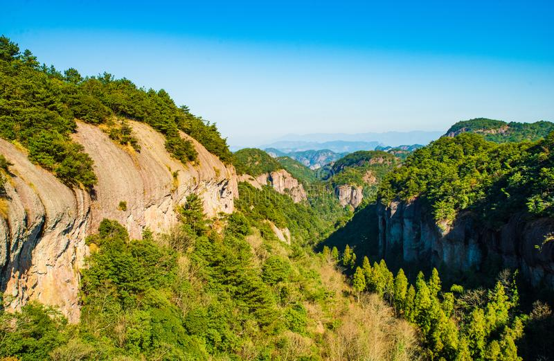Landscape of China`s Famous mountain royalty free stock image