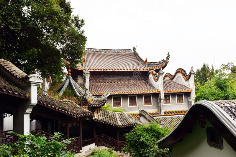 Landscape of Chinese ancient garden stock photos