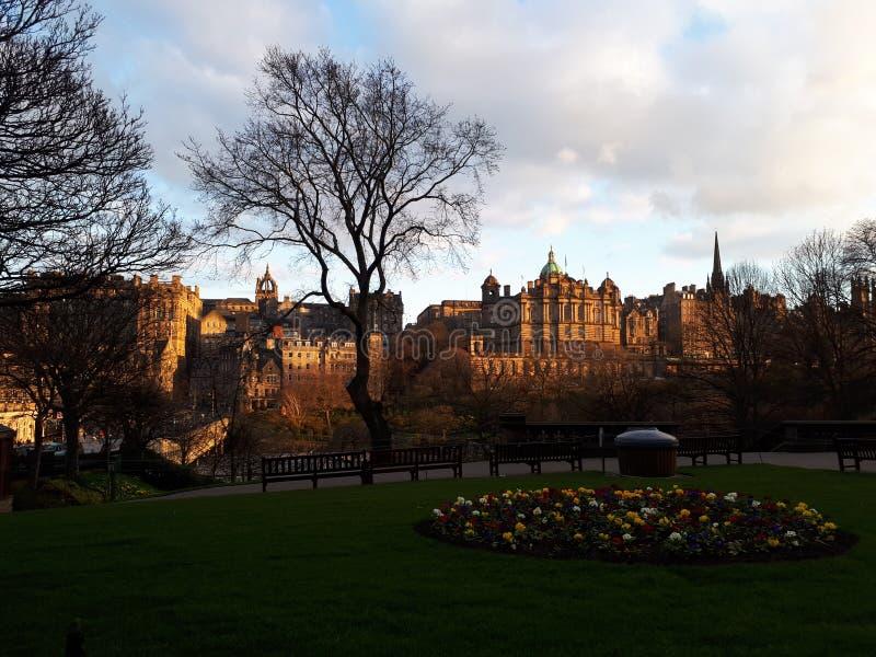 Edinburgh city royalty free stock photography