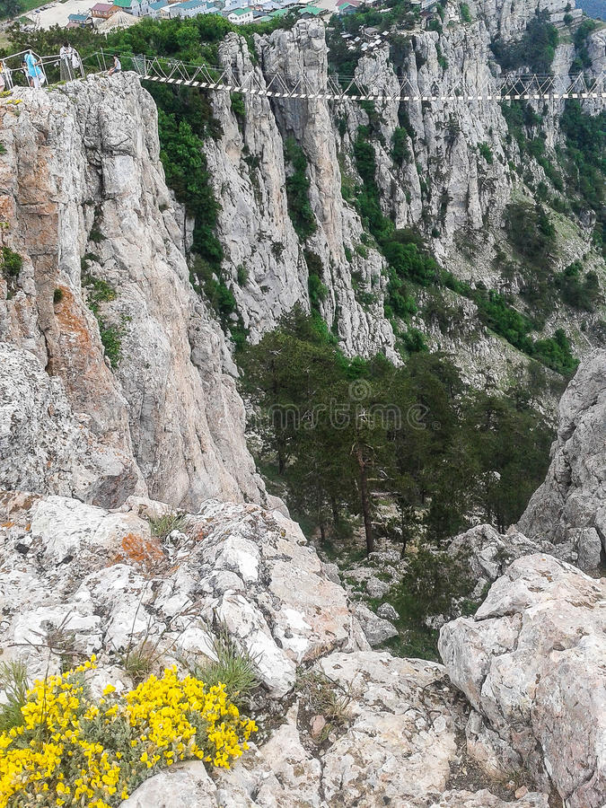 Landscape of the coast of the Crimea. The Crimean Peninsula is one of the most beautiful places on the black sea coast. In the ancient time was inhabited by royalty free stock photos