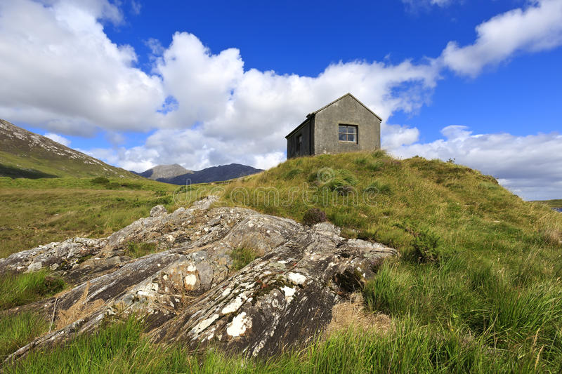 Landscape of Connemara in Ireland. stock photography