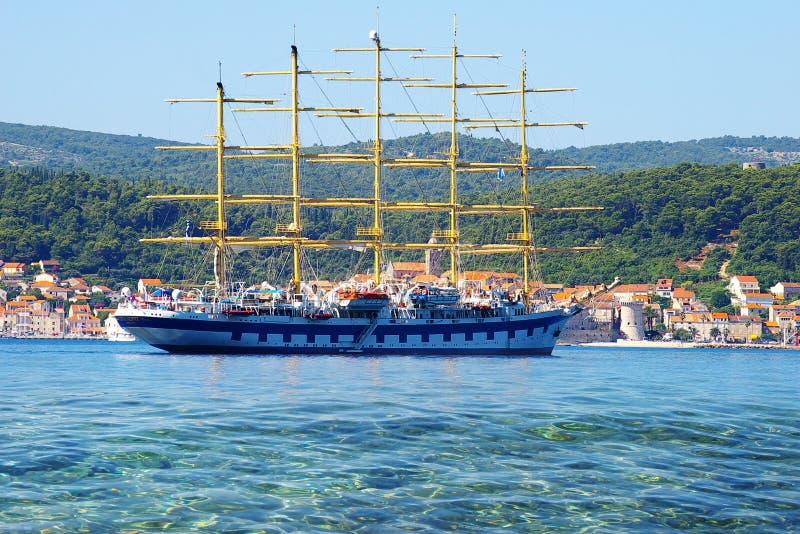 Download Landscape With Corchula City, Croatia Stock Photo - Image: 24933840