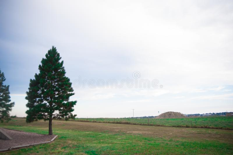 Landscape of the country side in America. America is a continent where American mainly live. The world is big enough to explore mo royalty free stock photo