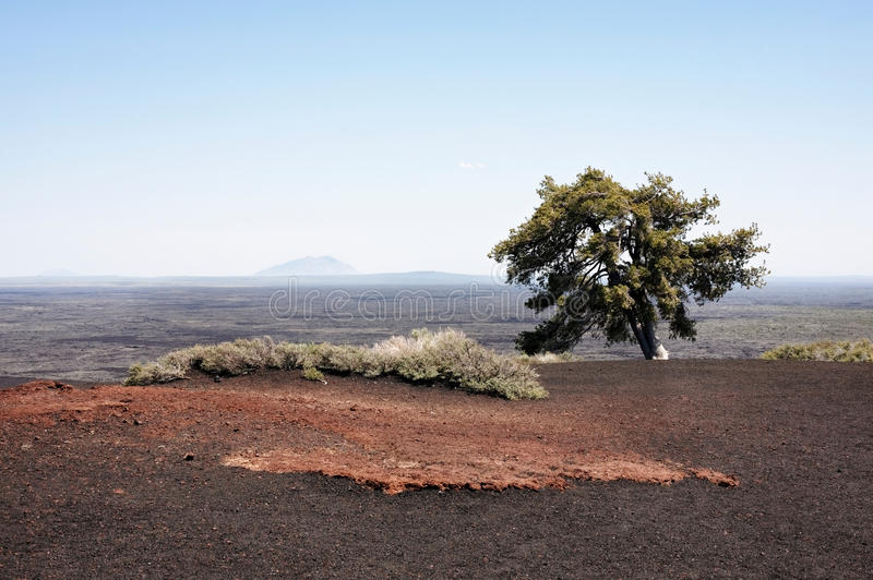 Landscape: Craters of the moon royalty free stock photos