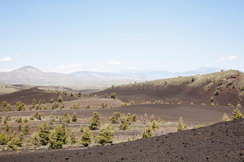 Download Landscape: Craters Of The Moon Stock Photo - Image: 28414706