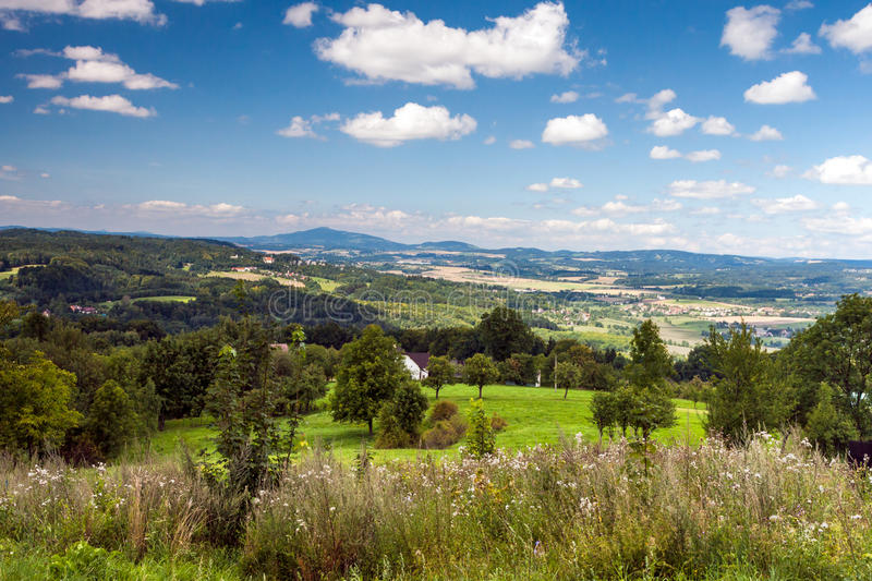 landscape in the Czech Republic royalty free stock photos