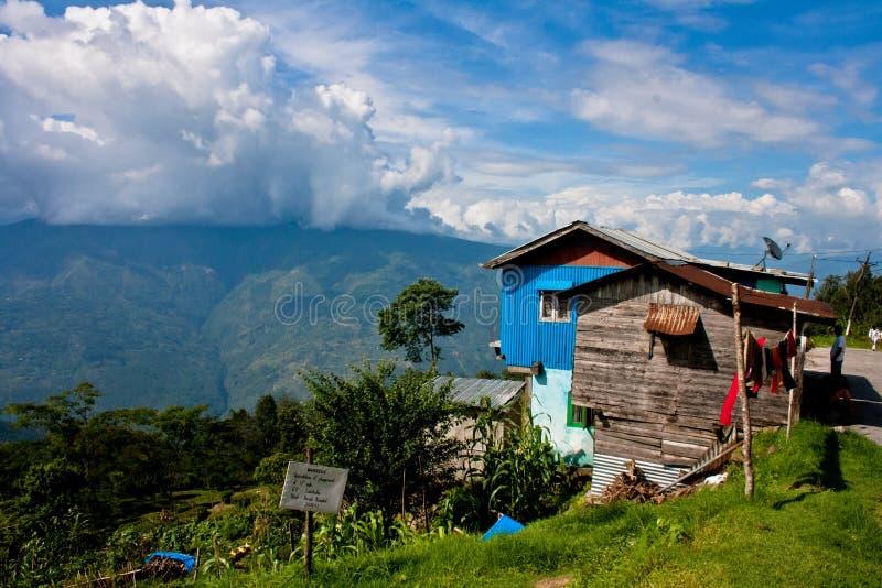 A Landscape At Darjeeling Editorial Photo