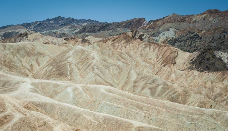 Landscape in Death Valley National Park. Zabriskie Point, Death Valley, California, USA California, USA stock image