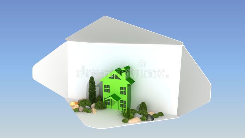 Download Landscape design stock illustration. Illustration of autumn - 33508545