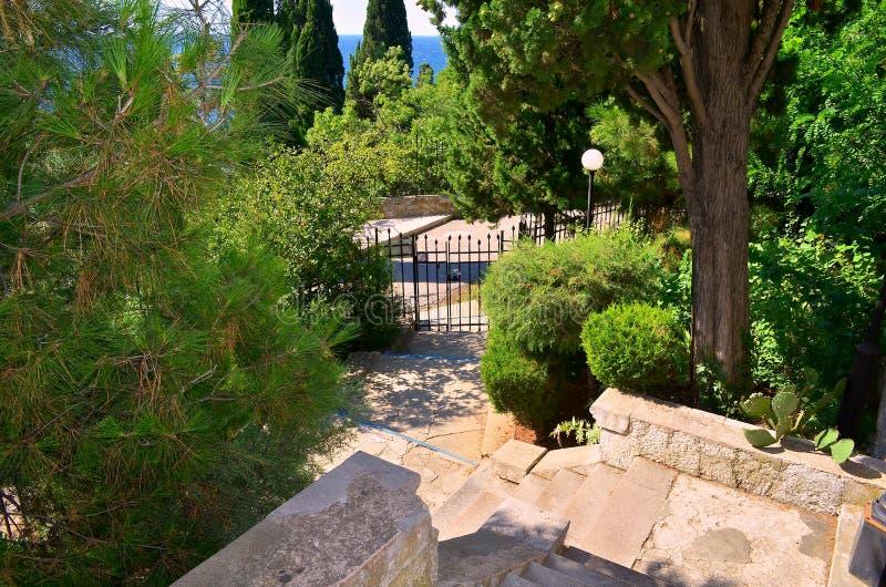 Landscape design stock images