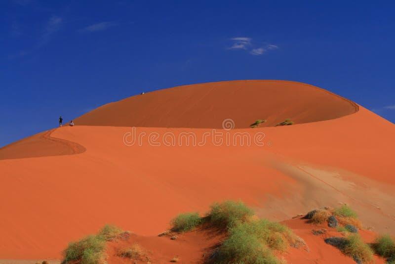 Namibian red dune landscape dream