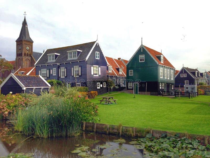 Surreal Dutch landscape stock photo
