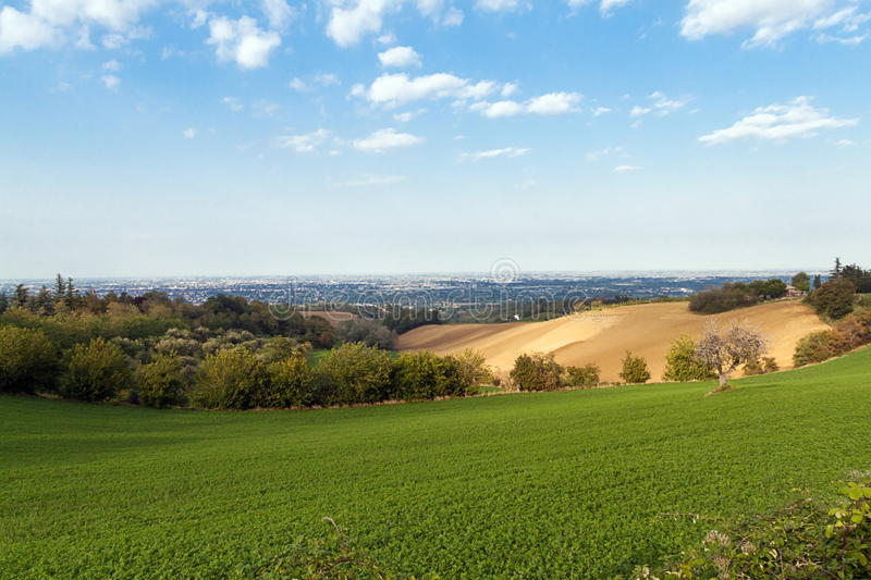 Landscape in Emilia-Romagna (Italy) royalty free stock photos