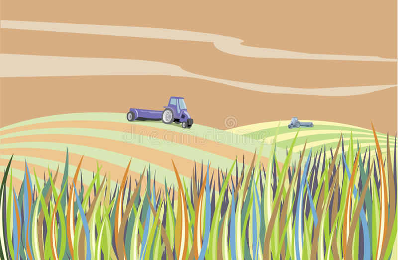 Download Landscape Farm Abstract Royalty Free Stock Photography - Image: 18581387