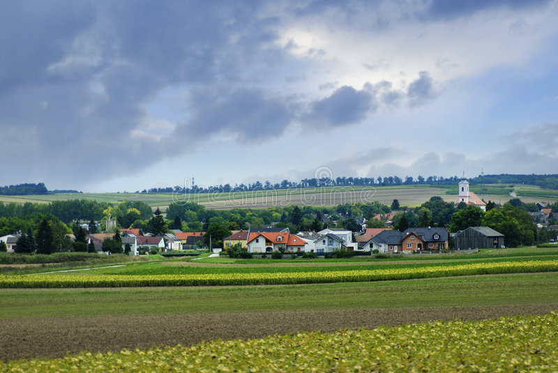 Download Landscape field stock photo. Image of green, heavens, ground - 3461638