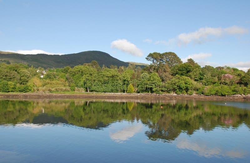 landscape fridsamt reflektera royaltyfri bild