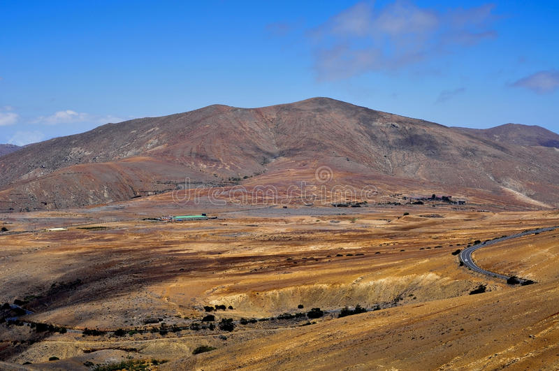 Download Landscape Of Fuerteventura, Canary Islands, Spain Royalty Free Stock Image - Image: 27080946