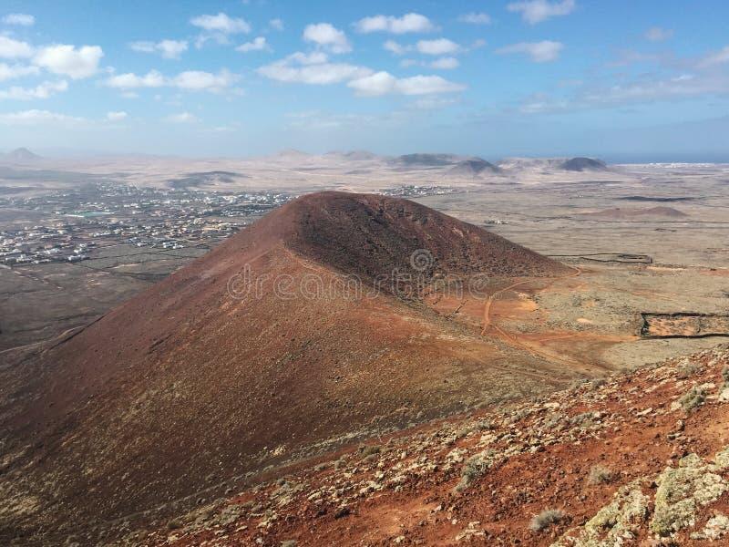 Landscape Fuerteventura Canary islands Spain royalty free stock photography