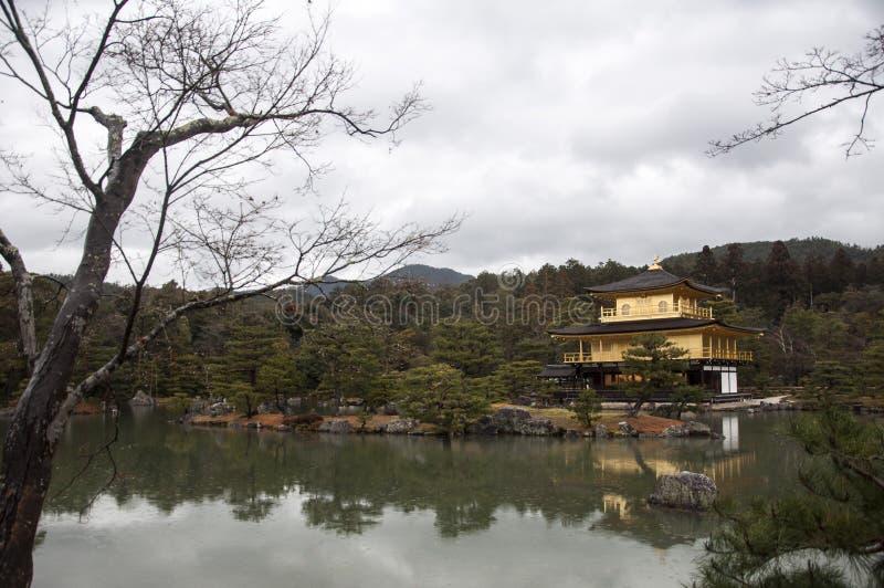 Kinkakuji-Temple Kyoto Japan Golden Pavilion stock images