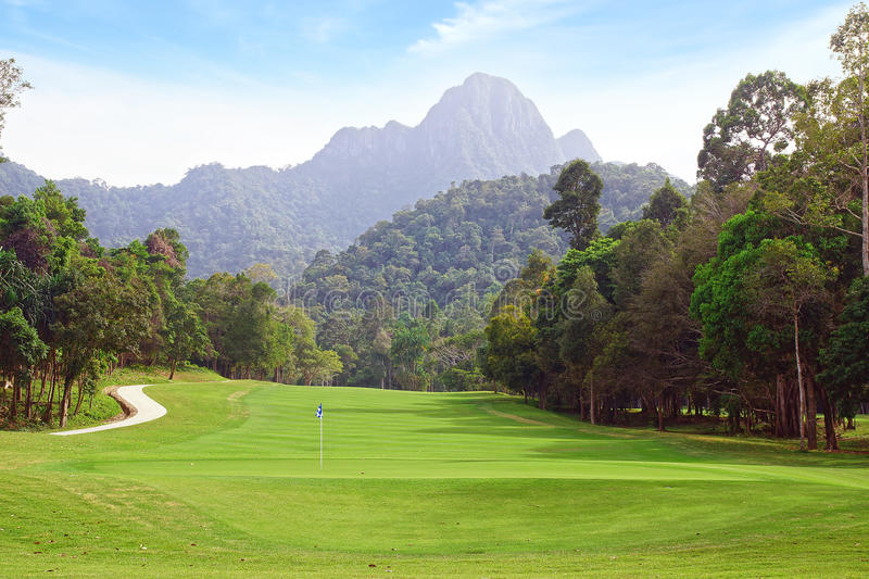 Download Landscape With Golf Course. Stock Photo - Image: 38979538