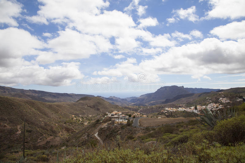 Landscape in Gran Canaria royalty free stock images