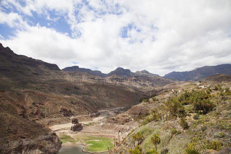 Landscape in Gran Canaria royalty free stock photo