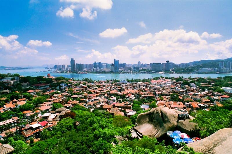 Landscape of Gulangyu Islet. Landscape in gulangyu islet, Xiamen, China stock photography