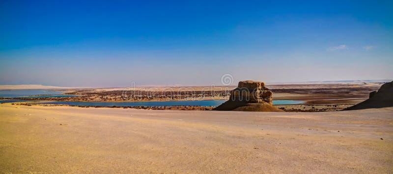 Landscape of hill near Wadi El Rayan,Faiyum, Egypt. Landscape of hill near Wadi El Rayan at Faiyum, Egypt royalty free stock photos