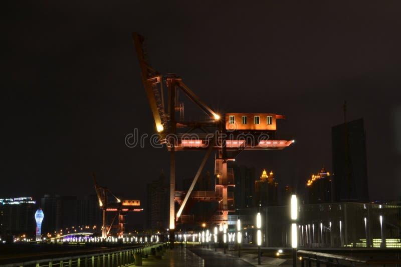 Landscape, Huangpu riverside of XUHUI district royalty free stock photo