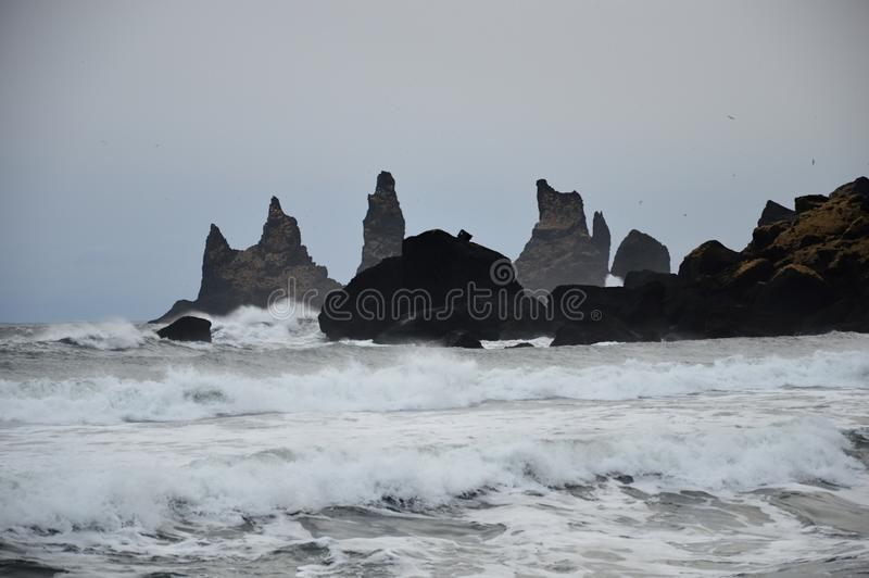 The landscape in Iceland stock photography