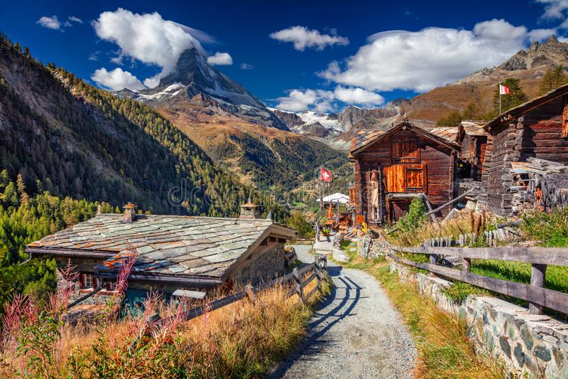Swiss Alps. stock photos