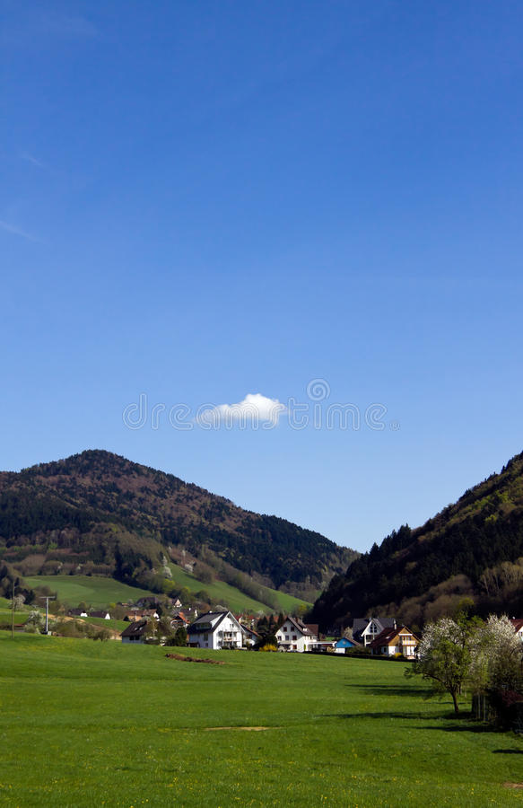 Free Landscape In The Black-forest, Germany ,Glottertal Stock Photography - 19100572