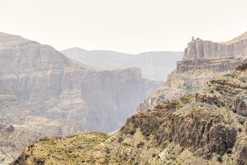 Landscape Jebel Akhdar Oman royalty free stock photography