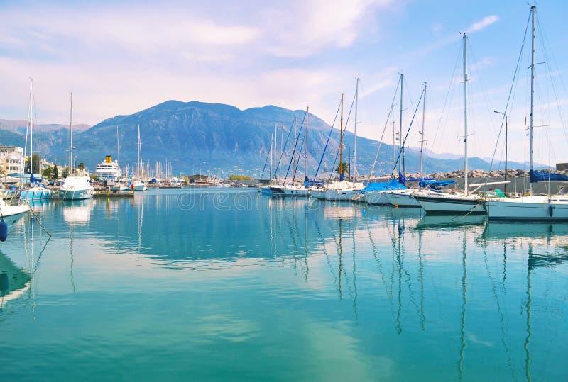 Landscape of Kalamata Messinia Peloponnese Greece stock image