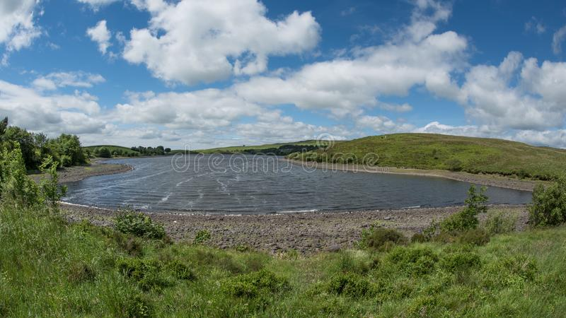 Landscape of a lake royalty free stock photography