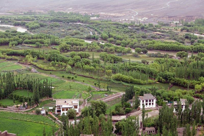 Landscape in Ladakh, india stock photos