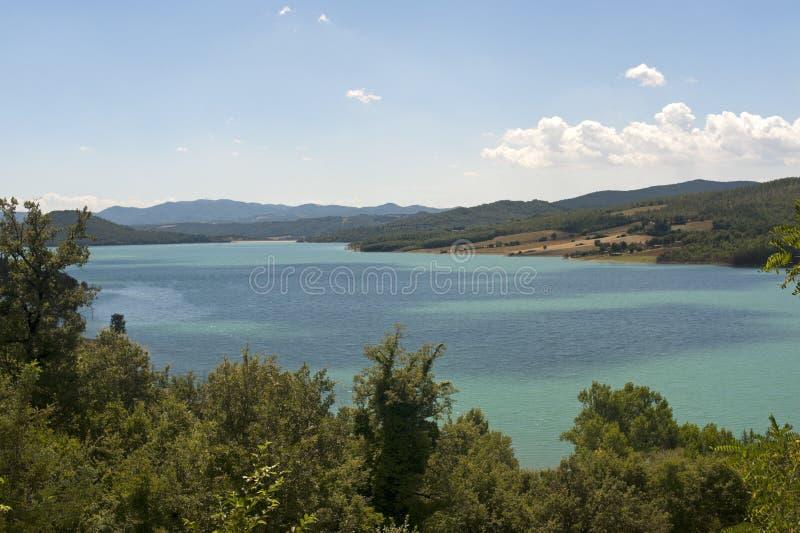 Download Landscape With Lake Near Arezzo Stock Photo - Image: 21465170