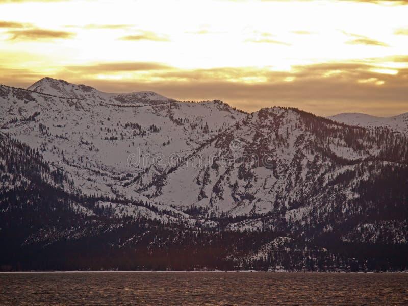 Landscape Of Lake Tahoe Stock Images