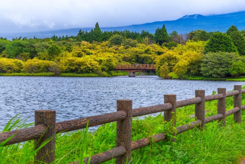 Landscape of lake tanuki at fujinomoya , japan. Landscape of lake tanuki at fujinomoya in japan stock photos