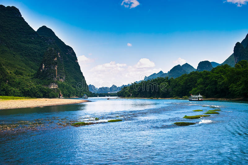 Landscape of li jiang stock images